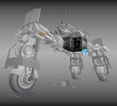 futuristic living module basic version 3d asset cgtrader