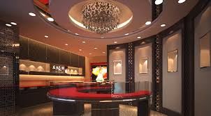 awesome counter design jewelry shop with luxurious interior