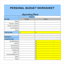 Home Budget Spreadsheet Template Personal Budget Template Excel Jpg