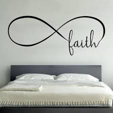 infinity faith wall vinyl decal sticker family kidsroom