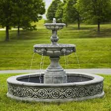 best 25 large outdoor fountains ideas on xeriscaping