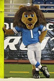 detroit lions roary mascot