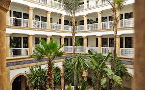 moroccan riad floor plan heure bleue palais essaouira morocco hotel niche destinations