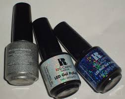 sparkled beauty red carpet manicure led gel mani
