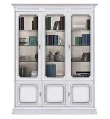 tennsco 352g executive steel bookcase with glass doors