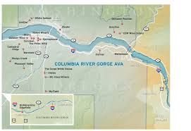 Map Of Columbia 2011 Holiday Wine Guide Columbia River Gorge Ava Map Oregonlive Com