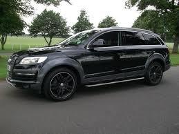 2007 audi q7 sale used audi q7 2007 black paint diesel 3 0 tdi quattro se 4x4 for