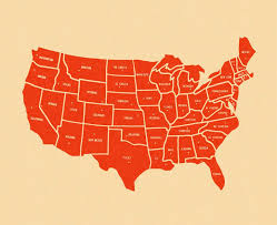 map of 50 us states with names all 50 us states in and why we should care