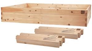 Cedar Raised Garden Bed 4x8x22 Raised Garden Bed Kit Minifarmbox 22 Inch U0027s Deep