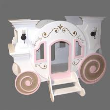 bunk beds girls cinderella princess carriage bunk bed by tanglewood design for