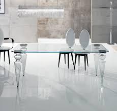 tavoli design cristallo tavolo gran canal 72 di reflex design riccardo lucatello