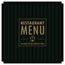 restaurant menu design vector image 1706085 stockunlimited