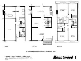 Minto Homes Floor Plans Mid Century Modern And 1970s Era Ottawa Modern Mansard