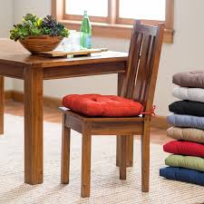 Dining Room Chair Pads And Cushions Accessories Kitchen Chair Cushions Walmart Intended For