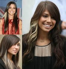 Frisuren Lange Haare Braun by Auffällige Braune Haare Mit Highlights Look Vpfashion