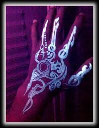 black light tattoos and designs