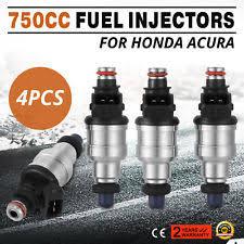 honda civic fuel injectors precision ebay