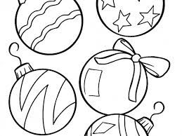 christmas balls coloring pagesfree coloring pages kids free