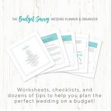 wedding planner organizer book review the budget savvy wedding planner and organizer giveaway
