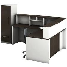 L Shaped Reception Desk Counter Reception Desks U0026 Suites You U0027ll Love Wayfair