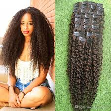 curly clip in hair extensions 4 brown curly clip in hair extensions american