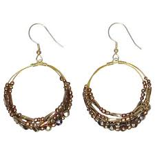 hoops earrings india amal handmade hoop earrings india free shipping on orders