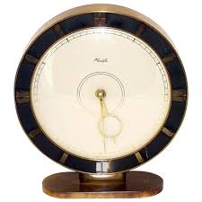 desk clocks modern big kienzle art deco table clock 1930s at 1stdibs