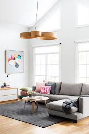 home magazine online bright and airy living area with a feature artwork by australian