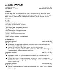 marketing skills resume retail chronological resumes resume help