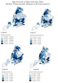 New York Crime Map by Spatial Regression Analysis Of Crime And Business Activity In New