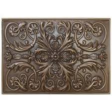 kitchen medallion backsplash soci metal resins tile plaque ssgv 1221 kitchen backsplash