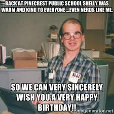 Nerd Birthday Meme - nerdy guy meme generator image memes at relatably com