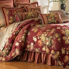 cool comforter sets with elegant flower pattern design for luxury