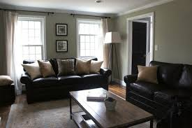 Living Room Decorating Ideas With Black Leather Furniture Living Room Color Schemes Black Leather 1025theparty