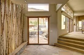 decorating with birch trees contemporary with ceiling