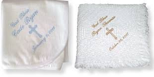 baptism blanket personalized embroidered personalized baby gifts weddings gifts more