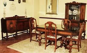1920 dining room set antique 1920 s jacobean style elegant beautiful dining room set