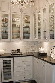 kitchens with glass cabinets kitchen cabinets glass shelves kitchen design ideas