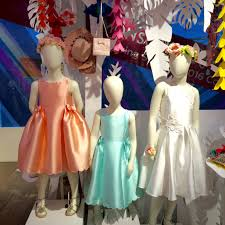 monsoon kids gorgeous kids silk pastel bridesmaid or party dresses for summer