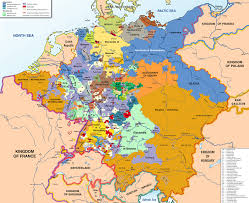 Printable Map Of Germany by Kleinstaaterei Wikipedia