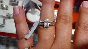 curved wedding band to fit engagement ring a wedding band vote emerald cut engagement ring weddingbee