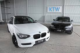 black bmw 1 series ktw launches black and white package for bmw 1 series autoevolution