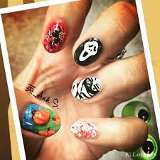 nail designs 2017 for halloween nail paint designs halloween easy