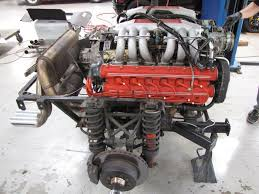 porsche 935 engine progress update 1985 testarossa engine out service dirty old cars