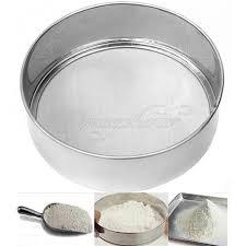 tamis cuisine professionnel professionnel ronde farine mesh tamis tamisage tamis passoire à thé