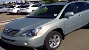 lexus nx winnipeg 2008 lexus rx 400h 4wd 4 door hybrid lexus of edmonton youtube