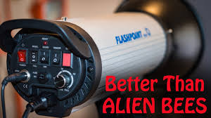 Alien Bees Lighting Flashpoint Monolight 1820a Review Better Than Alien Bees Youtube