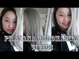 pravana silver hair color how to blonde to silver hair pravana chromasilk vivids silver