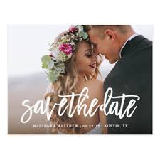 save the date announcements whimsy photo save the date announcement postcard zazzle