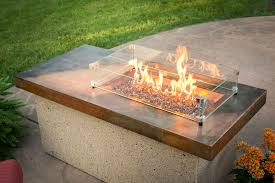 Gas Firepit Tables Poolside Pit